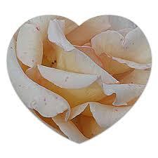 """Коврик для мышки (сердце) """"Нежность."""" #2709065 от Eva De ..."""
