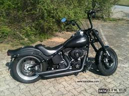 ... 2007 Harley Davidson NIGHT TRAIN BLACK SATIN CUSTOM BOBBER  Motorcycle Chopper/Cruiser Photo R