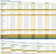 Cash Flow Calculation Excel Free Cash Flow Statement Templates Smartsheet