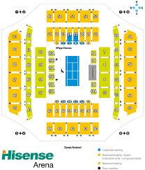 Melbourne Arena Seating Map Austadiums