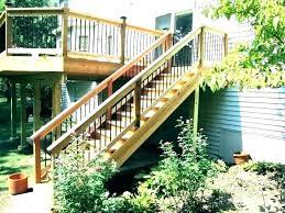 step outdoor two stair railing railings