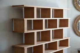 Modern Oak Bookcase