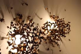 whimsical lighting fixtures. Hundreds Of Individually Crafted Brass Moths Make Up These Lighting Fixtures Actually Limited Whimsical E