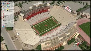Nebraska Memorial Stadium Seating Chart Rows Elegant As Well As Lovely Nebraska Memorial Stadium Seating