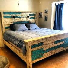 wood bed frame king diy how to build a king size bed frame wooden bed frames
