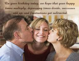 Parents Quotes From Daughter Stunning Happy Birthday Quotes For First Born Daughter From Mom Dad And