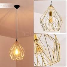Badalucco Lámpara Colgante Dorado, 1 Luz