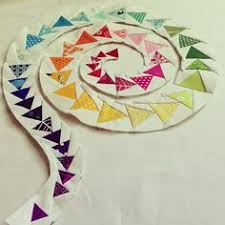 Swooping Flying Geese Tutorial! … | Pinteres… & My latest finish is my spiral of geese mini quilt for Fab Little Quilt  Swap. It measures and consists of 50 paper-pieced flying geese on a reverse  appliqued ... Adamdwight.com