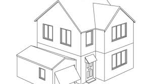 Small Picture 100 ideas Coloring Pages A House on kankanwzcom