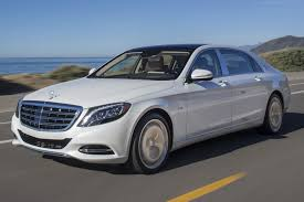 The lavish 2016 Mercedes-Maybach S600 has been photographed here ...