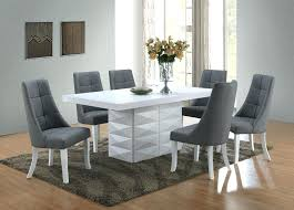 white modern dining room sets. Modern Dining Room Furniture Sets Kings Brand 7 Piece White Dinette Table With .