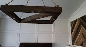 full size of pine wood beam island chandelier diy reclaimed west ninth vintage rustic wooden roost