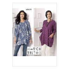 Marcy Tilton Patterns Enchanting Vogue Marcy Tilton Sewing Pattern V48 Misses Tunic From £4848