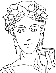 Small Picture Dionysus Coloring Page Handipoints