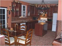 Brick Kitchen Kitchen Make A Perfect Brick Kitchen Backsplash Impressive Brick