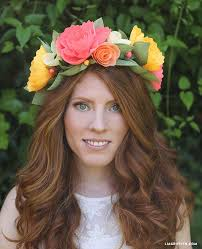 Paper Flower Headbands Crepe Paper Headband Tutorial Get Felt Up Crepe Paper Paper