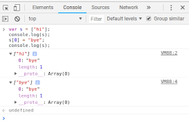 Log S Is Chromes Javascript Console Lazy About Evaluating Arrays