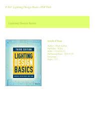 Lighting Design Basics Mark Karlen Pdf P D F Lighting Design Basics Pdf Full
