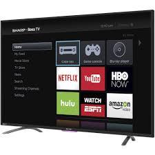 sharp smart tv. sharp 32n4000 32\u2033 hd smart tv with roku sharp smart tv