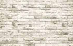 Crème En Witte Bakstenen Muur Textuur Achtergrond Of Behang