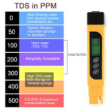 Drinking Water Tds Level Chart Details About Digital Tds Ppm Meter Home Drinking Tap Water Quality Purity Test Tester 0 9990