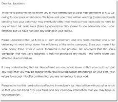 sales rep termination letter employment separation letter visitlecce info