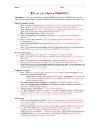 Get the prentice hall brief review physics answer key partner that we offer here and check. Physics Unit 6 Review Answer Key