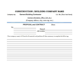 free estimate forms templates 8 best free construction estimate templates