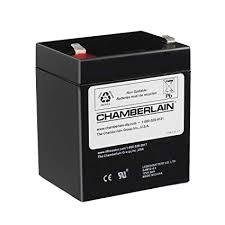 garage door motor replacement. Chamberlain/LiftMaster/Craftsman 4228 Replacement Battery For Backup Equipped Garage Door Openers Motor