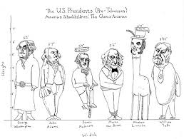 President Height Chart Does Height Matter In Politics Huffpost
