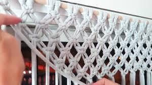 Macrame Curtain Pattern