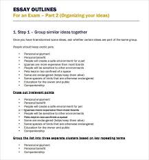 essay outline templates formats examples in word excel essay outline templates are added here