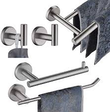 JQK Bathroom Hardware Towel Bar Set, 5-Piece Bath ... - Amazon.com