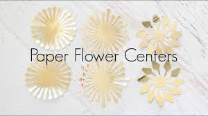 Pattern For Paper Flower How To Make Giant Paper Flower Centers And Pompom Centers
