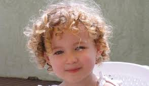 cute hairstyle for toddlers with short curly hair 04