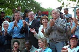 tee ball the george w bush presidential library and museum mrs barbara bush florida governor jeb bush former president george h w bush