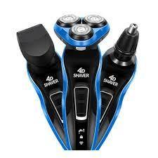 Máy cạo râu 3 trong 1 hiệu bằng điện, với các chức năng cắt tóc, tỉa lông  mũi, lưỡi dao kháng nước