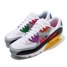 Details About Nike Air Max 90 Be True Betrue White Multi Color Men Casual Shoes Cj5482 100
