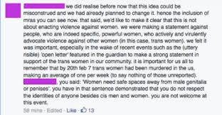 you are killing me on hate speech and feminist silencing screenshot of a facebook comment
