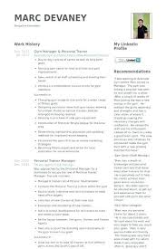 Gym Manager Resume Stunning Gym Manager Resume Sample For Your