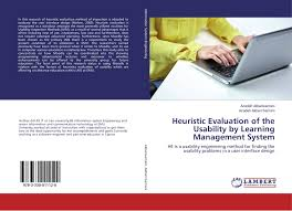 bookcover of heuristic evaluation of the usability by learning management system usability engineer