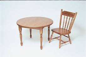 amish made kids wooden activity table and chairs