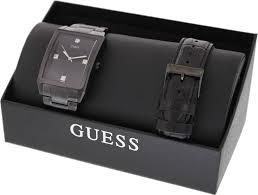 guess men s u0105g1 black stainless steel quartz watch black guess men s u0105g1 black stainless steel quartz watch black dial