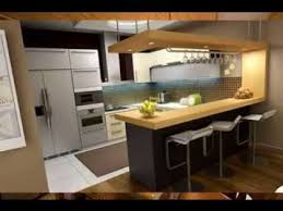 kitchen design with bar