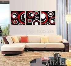 2018 black white red abstract wall art oil paintings on canvas pictures for living room home decorationno frames from meizi456 59 8 dhgate com
