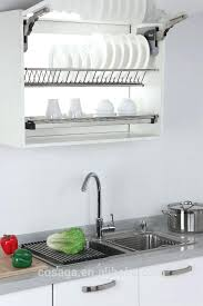 kitchen drying rack functional wall mounted dish racks for draining without overcrowding the interior design blog kitchen drying rack