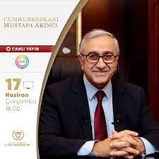 """Mustafa Akıncı on Twitter: """"Bu akşam saat 18.00'de BRT'nin canlı yayınında  gündemdeki konulara ilişkin değerlendirmelerimi sizlerle paylaşarak  soruları yanıtlayacağım.… https://t.co/Gqe6rvRYtU"""""""
