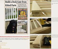 deck gate kits build a deck kit24