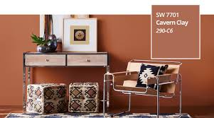 Sherwin Williams Color Chart 2018 Color Of The Year 2019 Cavern Clay Sherwin Williams