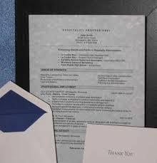 ... Valuable Resume Presentation Folder 6 Standard Presentation Package ...
